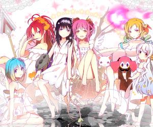 anime, puella magi madoka magica, and anime girl image