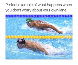 yes, funny, and Michael Phelps image