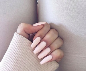 nails, pink, and goals image