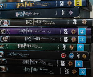 dvds, movies, and harry potter image