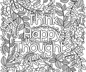 etsy, coloring page, and motivational art image