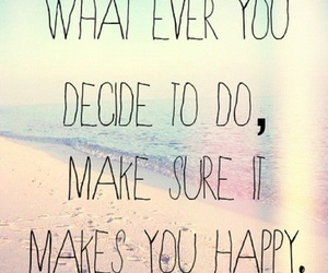 happy, quotes, and life image