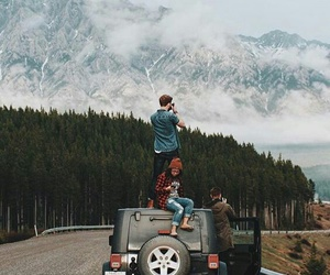 boy, couple, and explore image