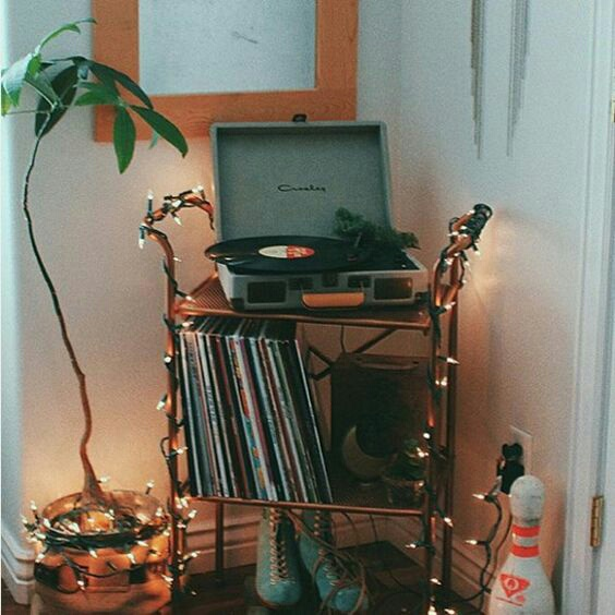 music, vintage, and light image