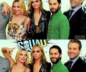 suicide squad, jared leto, and margot robbie image