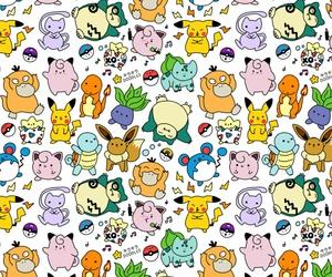 pokemon and pattern image