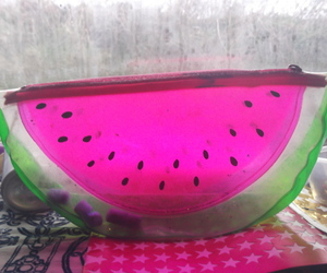 bright, photography, and watermelon image