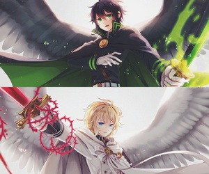 owari no seraph, mika, and seraph of the end image