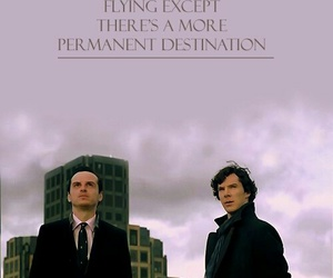 sherlock, moriarty, and sheriarty image