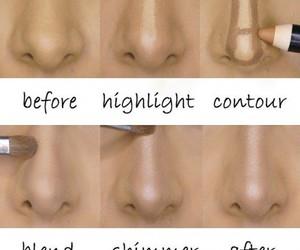 nose conturing image
