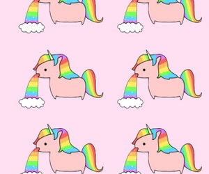 kawaii, unicorn, and pastel goth image