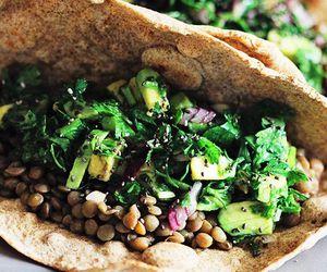 food, tacos, and vegan image