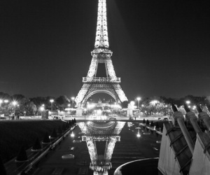 paris, light, and black image