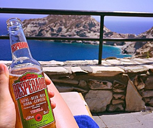 beer, Greece, and hollydays image
