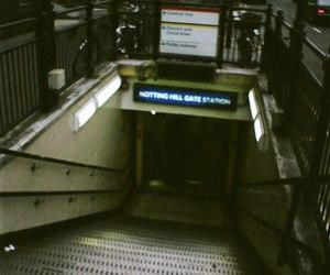 london, underground, and grunge image
