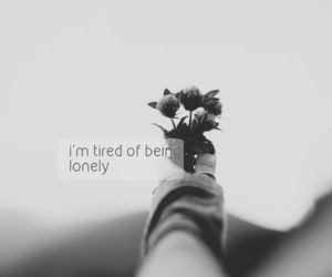 lonely, alone, and quotes image