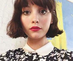 brownhair, cute, and shorthaircut image