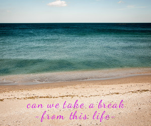 beach, Lyrics, and sun image