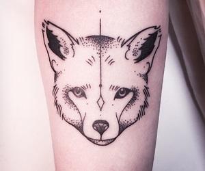 tattoo and black image