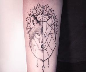 tattoo, animal, and black image