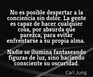 frases, carl jung, and conciencia image