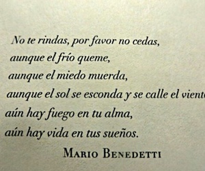 frases, mario benedetti, and Dream image