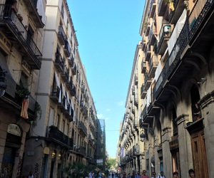 Barcelona, spain, and streets image