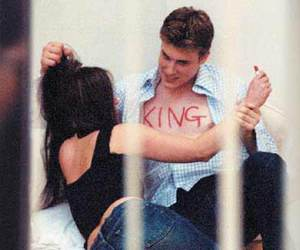 king, love, and couple image