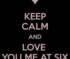 you me at six, ymas, and love image