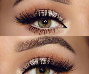 beautiful, eye, and woman image