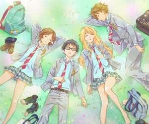 shigatsu wa kimi no uso, anime, and your lie in april image