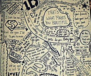 one direction, drawings, and art image