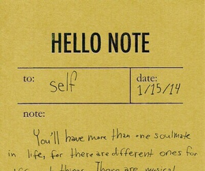 note, Paper, and self image