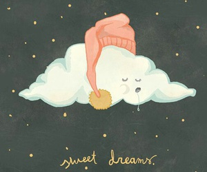 cloud, dreams, and night image