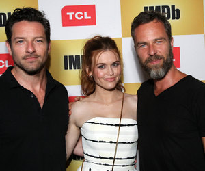 holland roden, ian bohen, and teen wolf image