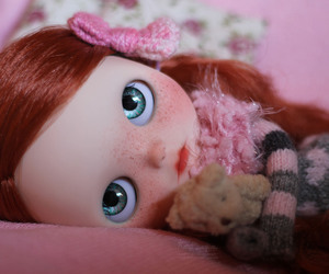 blythe, freckles, and doll image