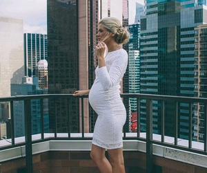 fashion, maternity fashion, and outfit image