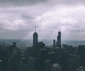 city, dark, and grunge image