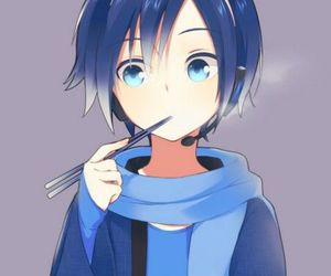 kaito, vocaloid, and anime image