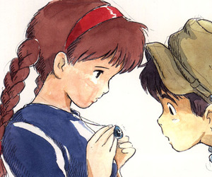 Castle in the Sky and ghibli image