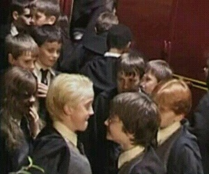 harry potter, scene, and drarry image