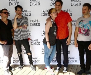 brendon urie, panic! at the disco, and dallon weekes image