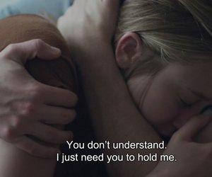 quotes, boy, and hug image