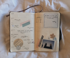 art, journal, and moleskine image