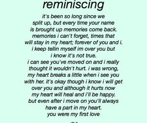 breakup, feelings, and heartbreak image