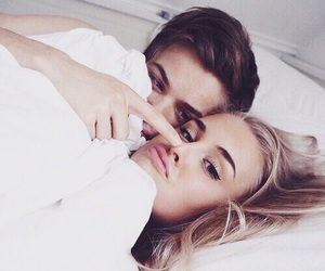 beautiful, bed, and couples image
