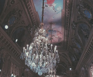 art, beautiful, and ceiling image