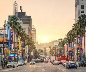 los angeles, la, and travel image