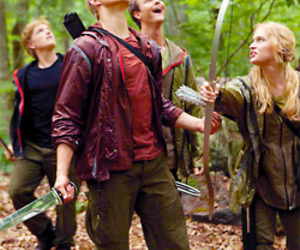 cato, the hunger games, and glimmer image
