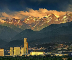 Almaty, cities, and city image